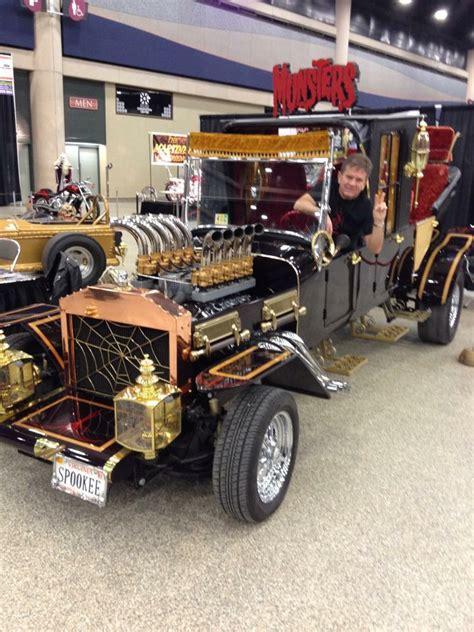 Munster Car The Munster Mobile And Eddie Munster At Detail