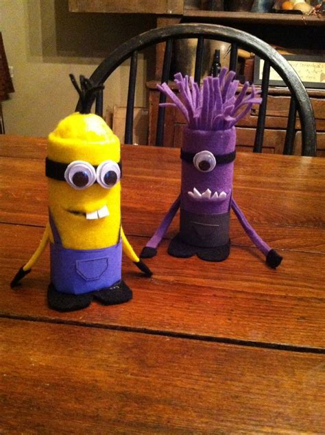 Minion Toilet Paper Roll Craft - 43 best images about crafts for on memory