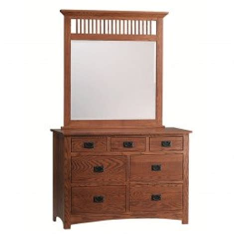 Country Mission Mule Dresser Mirror - mission mule chest mirror amish made mission mule