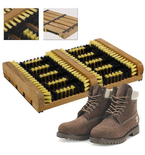 shoe scraper brush mat boots clean
