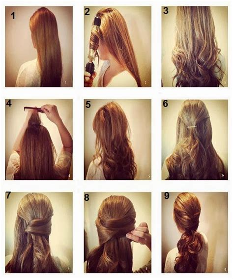 quick and easy hairstyles instructions new best quick and simple hair style pics tutorial part 2