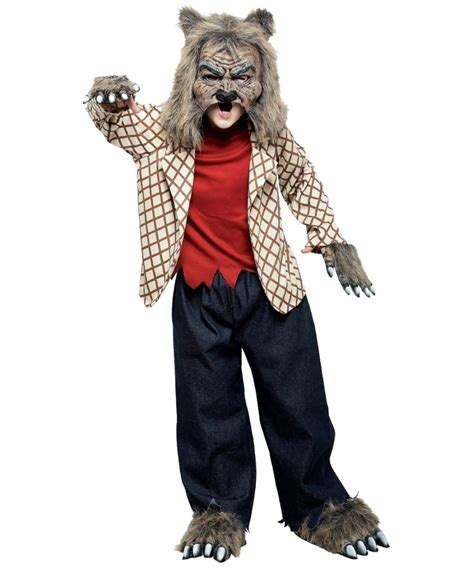 Pilgrim Decorations Werewolf Scary Boys Costume Boy Werewolf Costumes