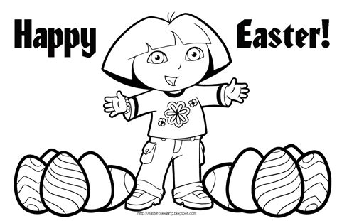 happy easter coloring pages only coloring pages