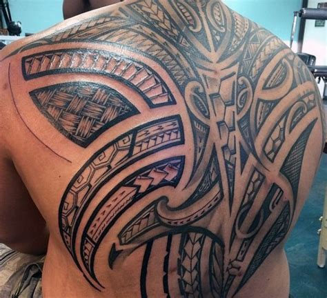 mens tribal back tattoos 60 hawaiian tattoos for traditional tribal ink ideas