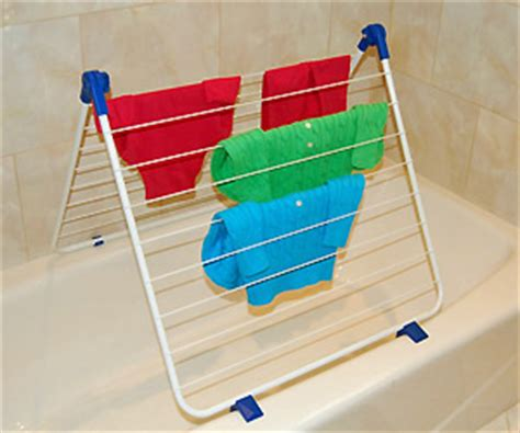 Bathtub Clothes Drying Rack by Clothes Drying Rack Fits Bathtub Saves Space