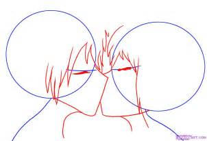 how to draw anime step by step how to draw anime couples hugging step by step