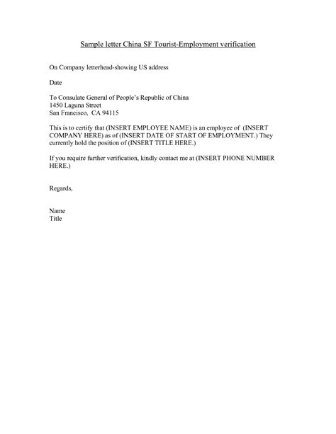 proof of employment template 40 proof of employment letters