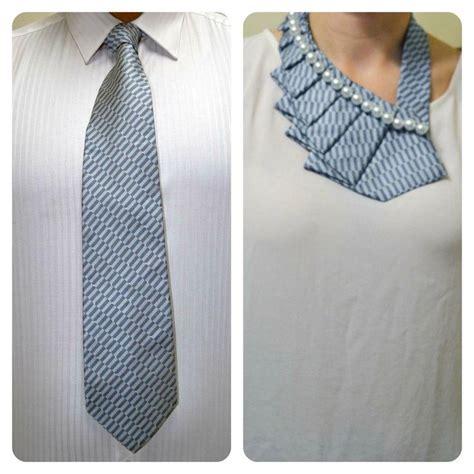 diy refashion clothes fashion diy a new twist on the necktie diy