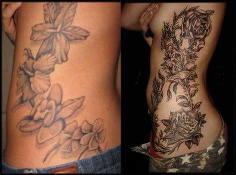 tatuaggi fiori sul fianco fare un tatuaggio sul piede guida completa