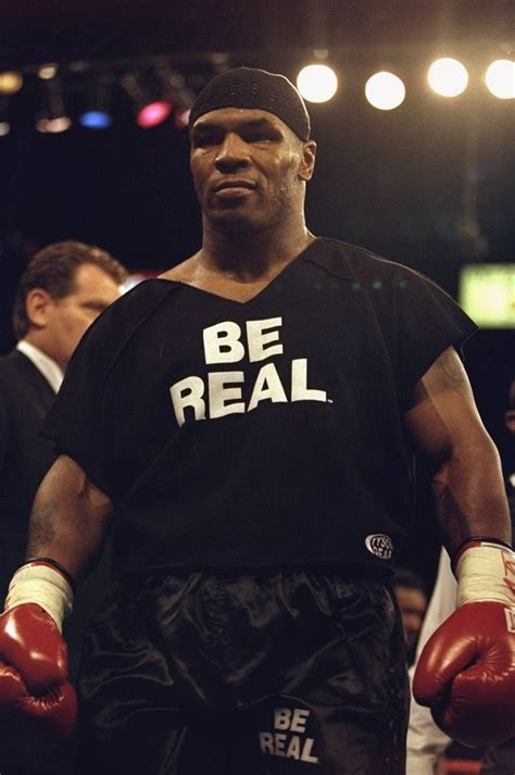Mike Tyson To Be In A by Mike Tyson Sports