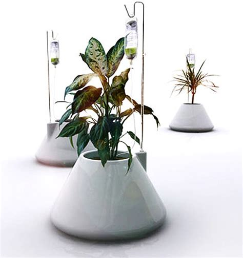 planter design iv plant pot inhabitat green design innovation