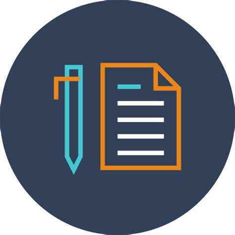 Icono Contrato Gratis de Linear Finance Icons