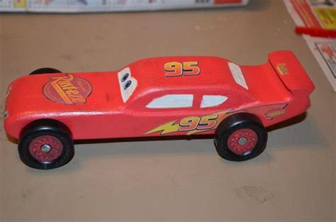 Lightning Mcqueen Pinewood Derby Pinterest Lightning Mcqueen Pinewood Derby And Wooden Car Lightning Mcqueen Pinewood Derby Car Template