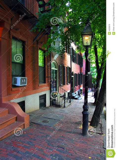 beacon hill boston royalty free stock photo image 4220975