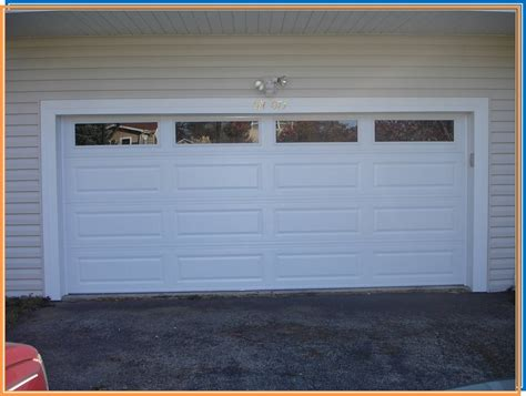 replace garage door panels