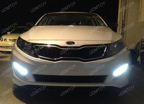 Kia Optima Led Running Lights Kspeed Kia Optima K5 12 Led Oem Fit Led Daytime Running Lights