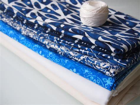 New Pazia Batik Navy stack of navy batik fabric piggledee