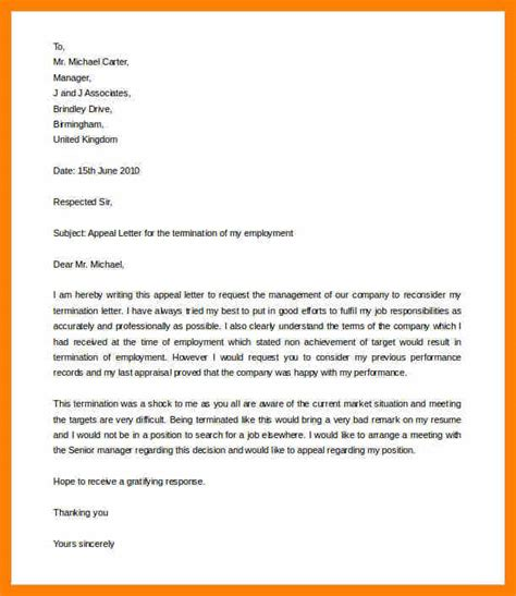 Sle Letter Of Appeal For Reconsideration by 5 Tenure Appeal Letter Sle Computer Invoice