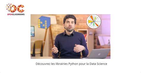 librerie python librairies python pour la data science mooc francophone