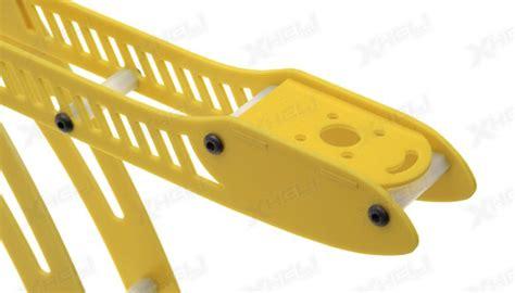 Hi Mm Yellow Airplane 2621 cr4 400 quadcopter fiber glass kit yellow rc remote