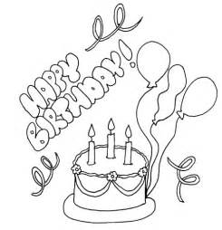 happy birthday coloring card coloring pages happy birthday card