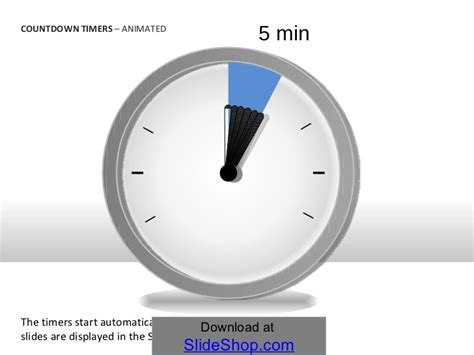 Countdown Timers Animated Countdown Timer For Ppt