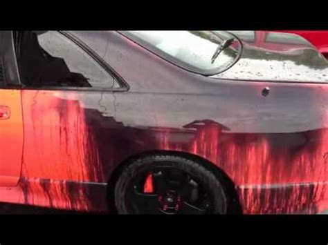amazing heat sensitive car paint thermochromics car paint heat sensitive paint on car