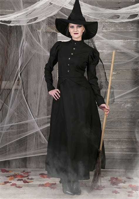 womens deluxe witch costume