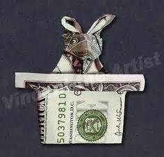 Dollar Bill Origami Rabbit - the world s catalog of ideas