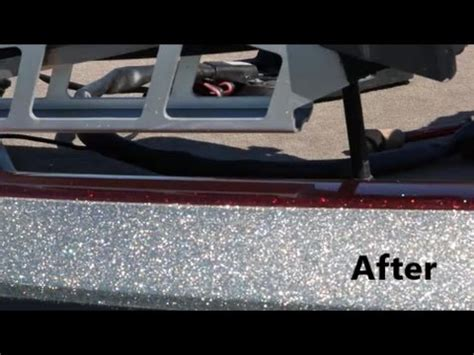 how to remove heavy oxidation from fiberglass boat color sanding and polishing the gel coat finish on a boat