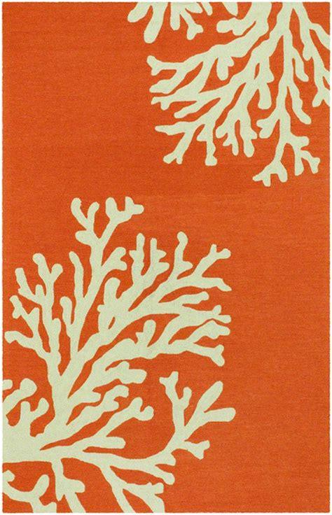 Coral Design Area Rug by Rugstudio Presents Jaipur Rugs Grant Design Indoor Outdoor