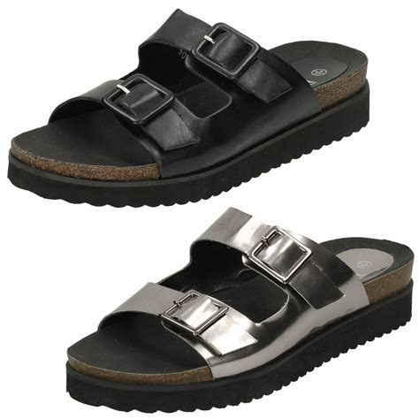 thick sandals to earth slip on sandals buckle