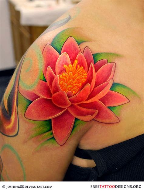 lotus flower shoulder tattoo 90 lotus flower tattoos