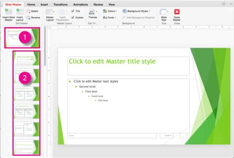 save slide master as template slide masters in powerpoint 2016 for mac powerpoint for mac