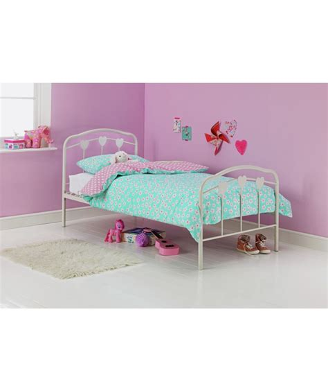Argos Bed Frames Buy Hearts Single Bed Frame White At Argos Co Uk Your Shop For Children S Beds