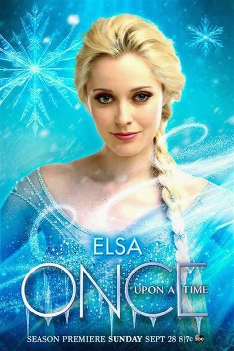 Elsa New 4 Grey once upon a time season 4 elsa character posters