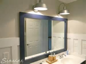 nautical bathroom mirror seaside interiors nautical bathroom reveal