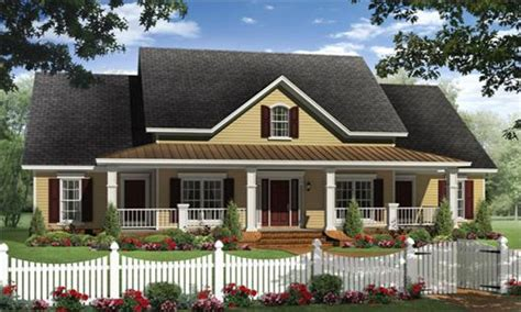 Traditional House Plans With Porches by Country Ranch House Plans Ranch House Plans With Porches