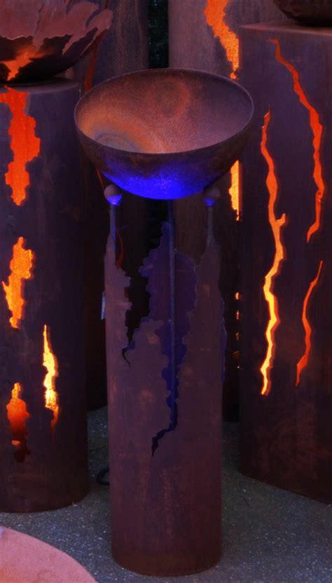 feuerschale drinnen metall dekorationsartikel lichts 228 ulen feuerschalen und