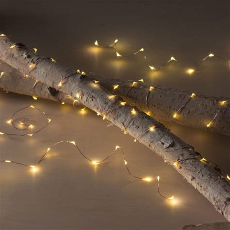 copper led string lights led string lights in copper or silver finishes vivaterra