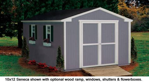 Storage Shed 10x12 by 10x12 Shed Seneca Value Series Gable Sheds