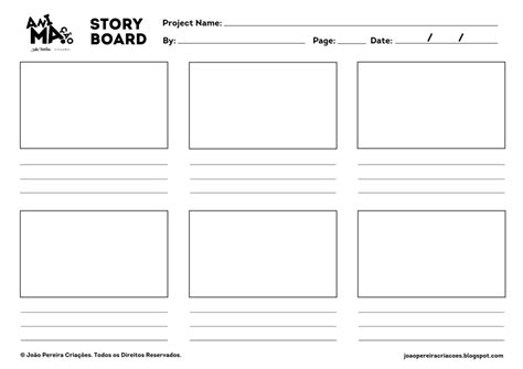 Jpc Animation Storyboard Template By Joaoppereiraus On Deviantart Animation Storyboard Template