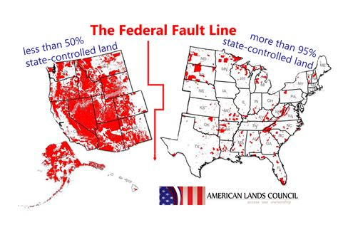 map of federally owned land in usa western attorneys general including mt issue