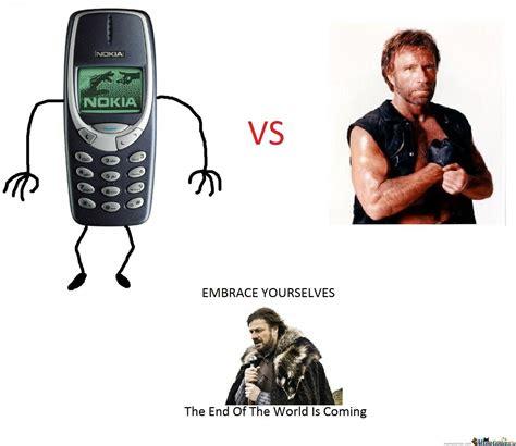 Nokia 3310 Meme - nokia 3310 vs chuck norris by wilszero meme center