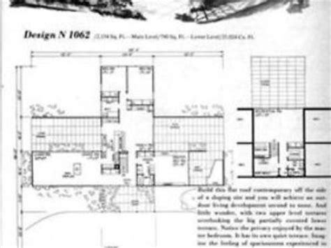 mid century modern floor plans plan house wooden bench diy small mid century modern home plans treesranch com