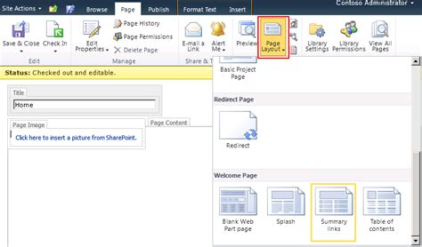 editing page layout in sharepoint 2010 sharepoint designer split page into columns sharepoint