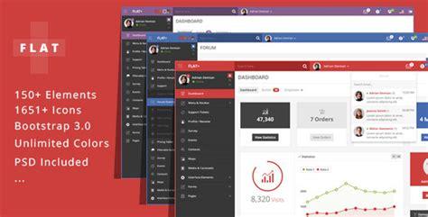 best admin panel template flat plus web app admin panel template