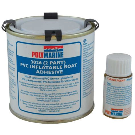 boat parts whitworths polymarine pvc inflatable boat adhesive 2 part 250ml 49