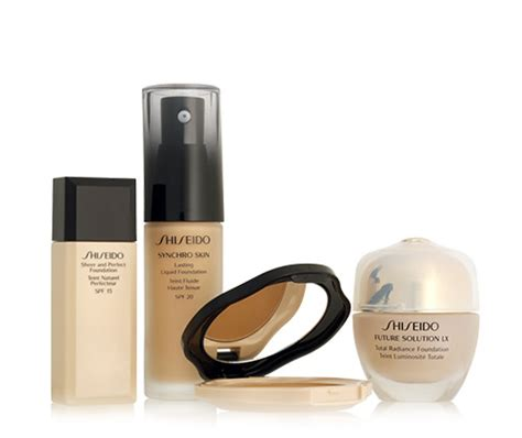 Makeup Shiseido maquillage teint bases perfectrices bases de