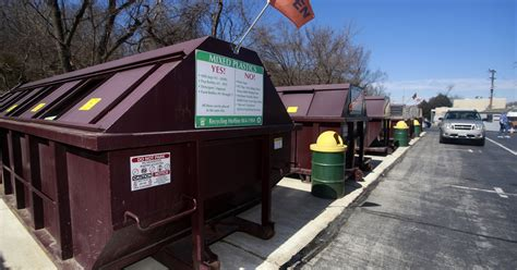 area recycling centers   open  sundays  yard waste